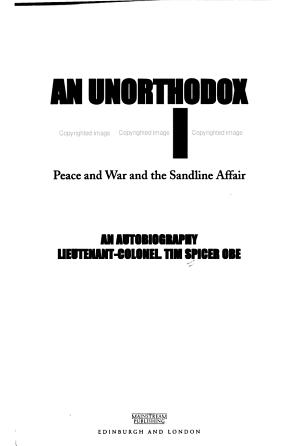An Unorthodox Soldier