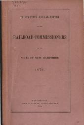 Annual Report: Volume 1879