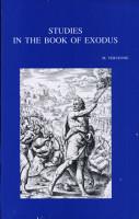 Studies in the Book of Exodus PDF