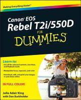 Canon EOS Rebel T2i   550D For Dummies PDF