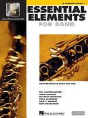 Essential Elements 2000 Comprehensive Band Method