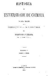 HISTORIA DA UNIVERSIDADE DE COIMBRA