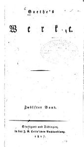 Werke: Leiden des jungen Werthers. Briefe aus der Schweiz, Band 12