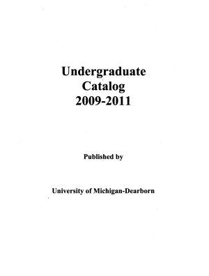 Undergraduate Catalog PDF