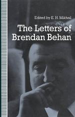 Letters of Brendan Behan