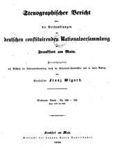 Stenographischer Bericht