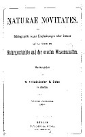 Naturae novitates PDF