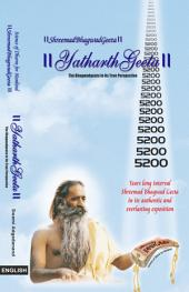 Yatharth Geeta: Srimad Bhagavad Gita : English