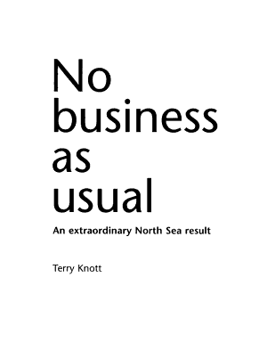 No Business as Usual PDF