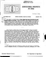 Agricultural Prospects in Chile PDF