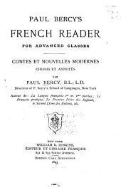 Paul Bercy's French Reader for Advanced Classes