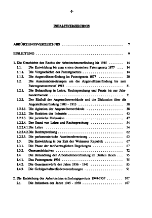 Die historische Entwicklung des Arbeitnehmererfindungsrechts in Deutschland PDF