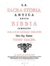 La sacra storia antica della bibbia: Volume 3