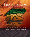 Archaeology  Discovering Our Past Book
