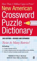 New American Crossword Puzzle Dictionary PDF