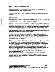 Insurance and Employee Benefits Literature PDF