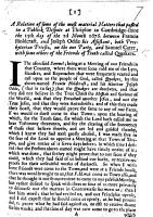 A Relation of some of the most material matters that passed in a public dispute at Thriploe in Cambridgeshire the 15th day of the 2d month 1676  between Francis Holdcraft  and Joseph Odde     on the one party  and S  Cater  with some others of the Friends of Truth called Quakers   Signed  S  Cater  J  Webb  J  B   i e  Jacob Baker   PDF