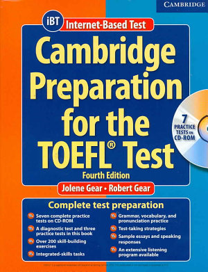 Cambridge Preparation for the TOEFL   Test Book with CD ROM
