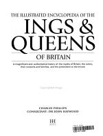The Complete Illustrated Encyclopedia of the Kings   Queens of Britain PDF