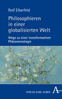 Philosophieren in einer globalisierten Welt PDF