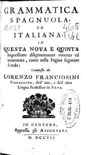 Grammatica spagnuola ed italiana ...