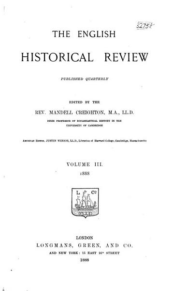 Download The English Historical Review Book