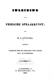 Friesche spraakkunst: Volume 3