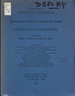 Information Sources on Special Recreation
