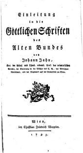 Einleitung in die Göttlichen Schriften des Alten Bundes: Teil 2