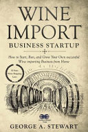 Wine Import Business Startup