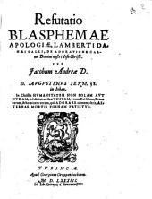 Refutatio Blasphemae Apologiae, Lamberti Danaei Galli, De Adoratione Carnis Domini nostri Iesu Christi