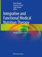 Integrative and Functional Medical Nutrition Therapy PDF
