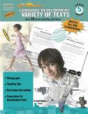 5th Grade Language Development: Variety of Texts