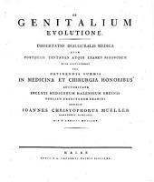 De genitalium evolutione