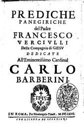 Prediche panegiriche del padre Francesco Verciulli ...