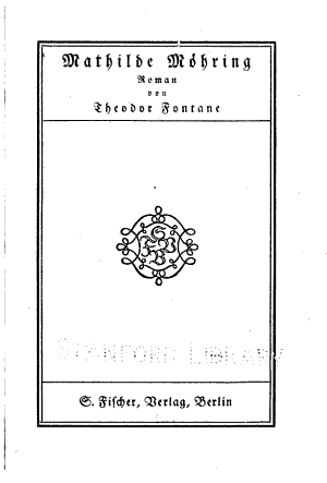 Mathilde M  hring  Roman  Berlin  Fischer  1914   162 S  PDF