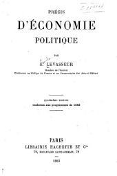 Précis d'économie politique