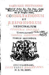 Consultationes et Responsa medicinales: Volume 2