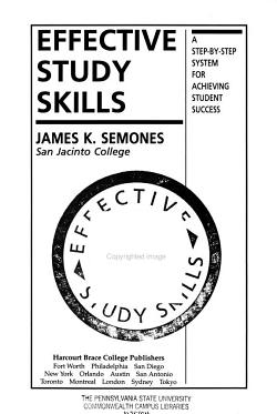 Effective Study Skills PDF