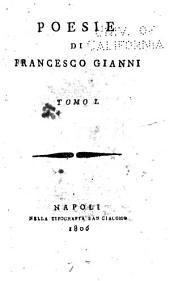 Poesie di Francesco Gianni ...