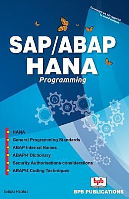 SAP ABAP HANA PROGRAMMING PDF