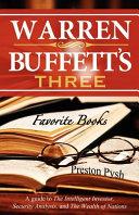 Warren Buffett's Three Favorite Books