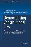 Democratizing Constitutional Law PDF