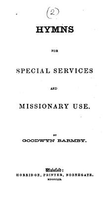 Hymns for special services and missionary use PDF