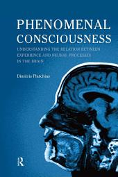 Phenomenal Consciousness: Understanding the Relation Between Experience and Neural Processes in the Brain