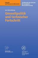 Umweltpolitik und technischer Fortschritt PDF