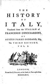 The History of Italy: Volume 10
