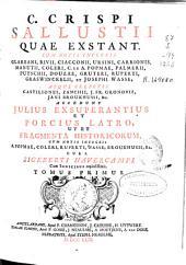 C. Crispi Sallustii [Opera] quae extant...: cum notis integris ... accedunt Julius Exsuperantius et Porcius Latro ..., Volume 2