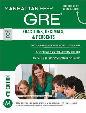 GRE Fractions  Decimals    Percents