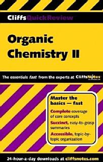 CliffsQuickReview Organic Chemistry II Book